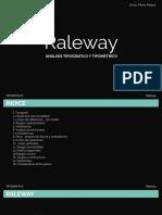 Análisis Raleway Typography