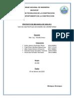 PROYECTO MECANICA DE SUELOS 2