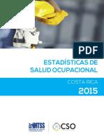 Estadisticas Salud Ocupacional 2015