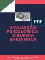 Avaliacao psicologica para cirurgia bariatrica (APOSTILA)