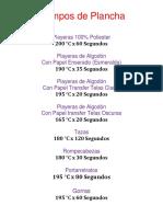 Tiempos de Plancha.docx