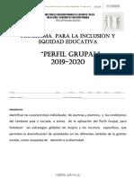 PERFIL GRUPAL 2019-2020