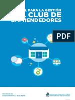 Manual de club de emprendedores