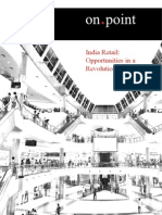 India Retail - Opportunities in a Revolution[1]
