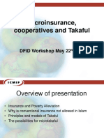 Microinsurance, cooperatives and Takaful.ppt