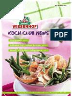 Wiesenhof Kochclub Nr.  26 | März 2007