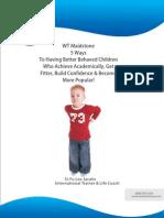 5 Ways to Having Better Behaved Children