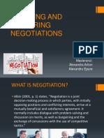 Planning and Preparing Negotiations