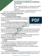Cours Economie Monétaire_S3_benhrimida -1