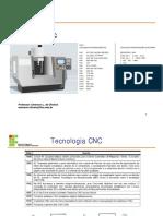 usinagem em Máquinas CNC
