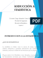 Capítulo I. Introduccion a la Estadistica