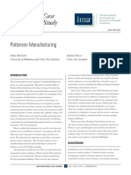 Patterson Manufacturing Case with Questions