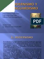 EL MODERNISMO Y EL VANGUARDISMO