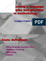 On teaching a language principles and priorities in methodology(1)[1].ppt