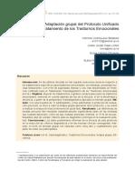 Transdiagnostico Adaptacion - Protocolo unificado grupal