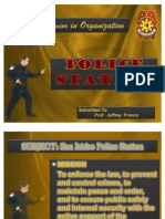 Human Behavior in Organization - Police Station