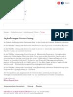 Gesang-Robert Schumann Hochschule Düsseldorf