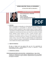 BEATRIZ TRUJILLO CV