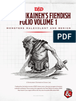 mordenkainen's fiendish folio volume 1