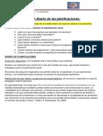 Asesoramiento en el diseño de las planificaciones 2015