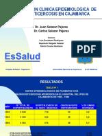 Nurocisticercosis en Cajamarca (Dr. Juan Salazar Pajares) 1.ppt