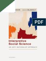 Mark Bevir, Jason Blakely - Interpretive Social Science_ An Anti-Naturalist Approach-Oxford University Press (2019)