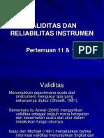 Pertemuan-11-12-Validasi-dan-Reliabilitas-Instrumen