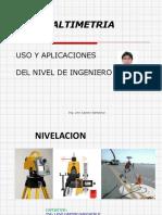 Uso del Nivel y aplicaciones