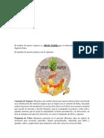 Proyecto emprendedor   Fruit Paper
