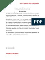 APUNTES UNIDAD 2 OPTIMIZACION DE REDES