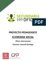 PROYECTO PEDAGOGICO economia social