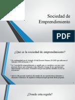 Sociedad de Emprendimiento 6a Sociedad