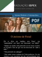 O ATEISMO CONTEMPORANEO E MODERNO - 01.ppt