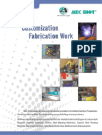 MEC SHOT Fabrication Catlogue