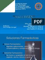 """Soluciones """"Quimica General"""""""