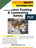 Safety Extrusion Coating Laminating