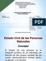 Estado Civil e Identidad de las Personas