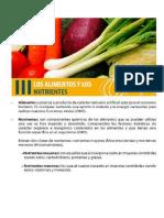 Seguridad Alimentaria, Material