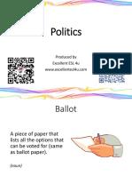 ESL Politics Flashcards