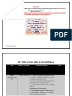RPT 2020 DLP Science Year 4 KSSR