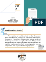 Requisites of Contract