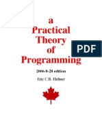 12687988 a Practical Theory of Programming