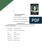 reshylle resume