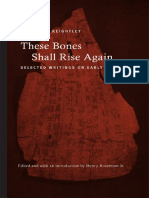 David N. Keightley.  - These Bones Shall Rise Again. Selected Writings on Early China