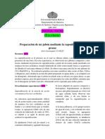 Informe 7. Saponificación José Carrasquel
