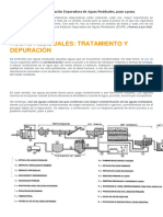 Los 18 elementos de una Estación Depuradora de Aguas Residuales
