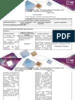 Guía de actividad y rubrica de evaluación  Fase 2 Planeación Describir el Proceso de Intervención