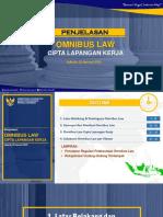 Paparan Omnibus Law - 29 Jan 2020'