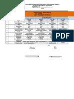 contoh format jadwal us