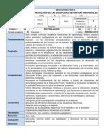 EFIS - PRAXIOLOGÍA DE LAS DISCIPLINAS DEPORTIVAS (CFPE - UNCO)